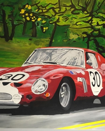 THE VERY FIRST FERRARI GTO